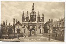 Cambridgeshire - Cambridge, Great Gate, King's College - Vintage card