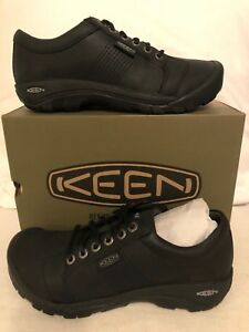 Keen Austin Black Shoes Loafers Men's US sizes 7-17 NEW!!!