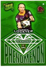 Darren Lockyer Single NRL & Rugby League Trading Cards