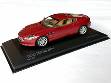 Aston Martin db9 toro red metalizado 2009 Minichamps 1:43 OVP
