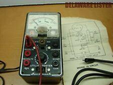 Auto Battery Voltage Utility Tester Superior Instruments Co. Vintage Model 70