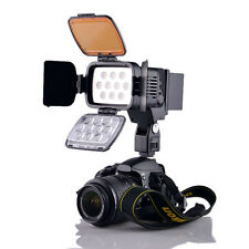 Professional 10-LED Video Light Camera Camcorder Photography Lamp, VL001A+