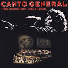 MIKIS THEODORAKIS / PABLO NERUDA - CD - CANTO GENERAL