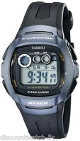Casio W210-1B Mens 50M Digital Sports Watch Dual Time Daily Alarm Stopwatch NEW