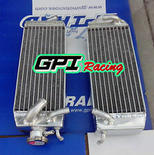 Aluminum Radiator FOR Suzuki RM125W RM125X RM125Y 1998-2000 1999 98 99 00