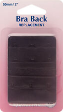 Hemline - Bra Back Replacement: Black 50mm