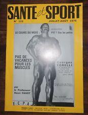 Santé et sport n°122- Bodybuilding - Musculation - Photo ARAX 1975