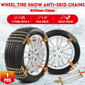 1pcs Anti-Skid Snow Tire Chain Emergency Winter Mud Driving For Car Truck SUV