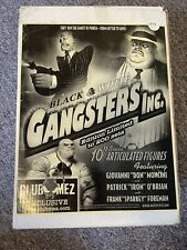 "Mezco Toyz 10"" Black & White Gangsters Inc Limited Edition Patrick Iron O'Brian"