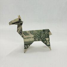Dollar Origami Llama