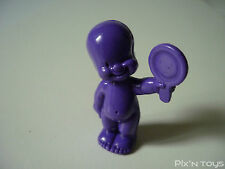 Les Babies / Figurine baby N°42 Mariette la coquette - violet foncé