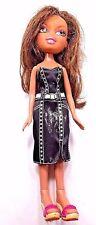 MGA Bratz Doll Dressed Shoes Brown Hair 2001 Brown Eyes