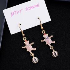 Retro Drop Earrings Fashion Jewelry New Betsey Johnson Crystal Rhinestone