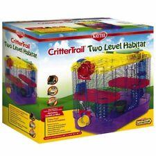 """LM Kaytee Critter Trail 2 Level Habitat (16""""L x 10.5""""W x 16""""H)"""