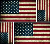 4 bandiera americana america Adesivi adesivo sticker moto auto biker usa