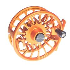 GALVAN T-5 TORQUE 5 FLY REEL BURNT ORANGE 5/6 WEIGHT ROD USA MADE FREE $100 LINE