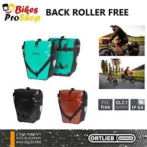 ORTLIEB Back Roller FREE (Pair) - Bike Bicycle Panniers Bags GERMANY 2021