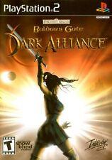 baldurs gate dark alliance ps2