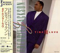 Freddie Jackson - Time For Love, JAPAN CD OBI_TOCP-7343