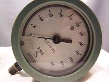 Vintage Ashcroft Test Gauge 0 600 Psi 2 Psi Subd Bronze Tube Brass Socket