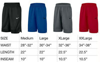 Mens Nike Dri Fit Athletic Gym Muscle Logo Basketball Shorts New With Tags