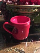 Red Heart Handle Coffee Mug Cup Valentines Love