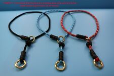 STRONG SLIP DOG COLLAR WITH STOPPER,(dog training, Obedience, gun dog equipment)