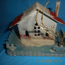 vintage putz House, Price Reduced