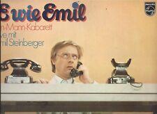 Emil Steinberger : E Wie Emil 70s Philips LP Comedy Kabarett