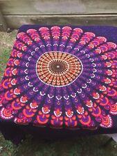 Sequin Mandala Sarong Cover up 115 cm wide x 150 cm long Rayon Beach Cruises