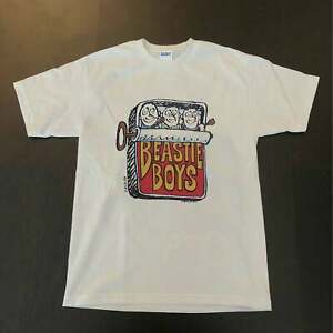 Vintage BEASTIE BOYS 1986 Tee, Beastie Boys 80s White T-Shirt, Unisex Size S-4XL