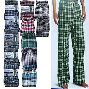 Men Boys Male Pyjama bottoms trousers quality cotton lounge pants 6 colours