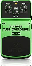 Vintage Tube Overdrive for Smooth Sustain and Screaming Fat Tone