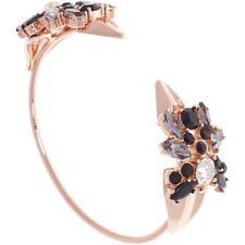Ted Baker Aras: Jewelled Arrow Ultra Fine Rose Gold and Black Diamond Cuff