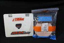 TWIN AIR FILTER KTM 250 76/77 LC 4-STR 1984 1986 HUSQVARNA 71/78 PART NUM 154502