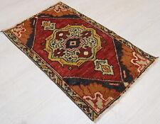 """Malatya Carpet Doormat, 18.1""""x29.5"""", Turkish Doormat, Handmade Vintage Doormat"""