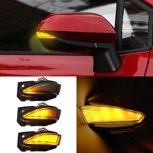 For Toyota Corolla E210 2019-2021 Car LED Side Mirror Dynamic Turn Signal Light