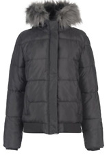 Everlast Bomber Jacket Womens Ladies Grey Full Zip UK Size 10 *REF42