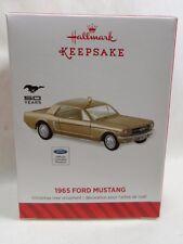 2014 Hallmark Keepsake Ornament 1965 Ford Mustang Loc B46