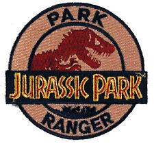 Jurassic Park - Park Ranger Uniform Patch - Kostüm Aufnäher neu zum aufbügeln