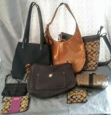 Vintage Coach bags all sizes preloved lot of 8