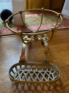 Antique Bass Soap Dish for Clawfoot Tub-original