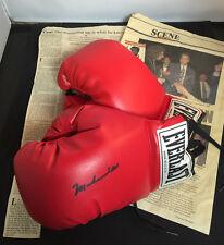 1994 • Muhammad Ali Autographed Everlast Boxing Gloves w/COA • Sacramento, CA