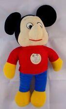"Knickerbocker Mickey Mouse Plush Doll 12"" Stuffed Animal"