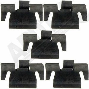 APDTY 50383 Power Window Switch Retaining Clips for GM Models Listed (Set Of 5)
