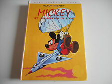 BIBLIOTHEQUE ROSE - MICKEY ET LES PIRATES DE L'AIR - WALT DISNEY -  1979