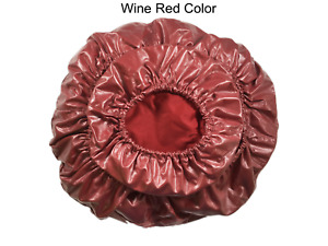 Dental Wine Red Chair Cover PU Leather Waterproof Protective Case High Quality