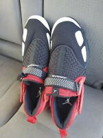 Jordan Trunner LX Black White Gym Red Mens Size 11 Sneakers 905222 00