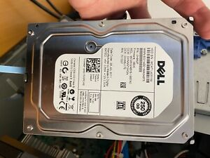 2 x Dell Wd 250GB 7.2K RPM SATA 3.5 Inch Hard Drive Th-0H962f WD2502ABYS-18B7A0