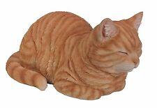 Vivid Arts Plant Pal Range - Dreaming Cat Ginger -Garden Ornament -Indoor/ Outdo